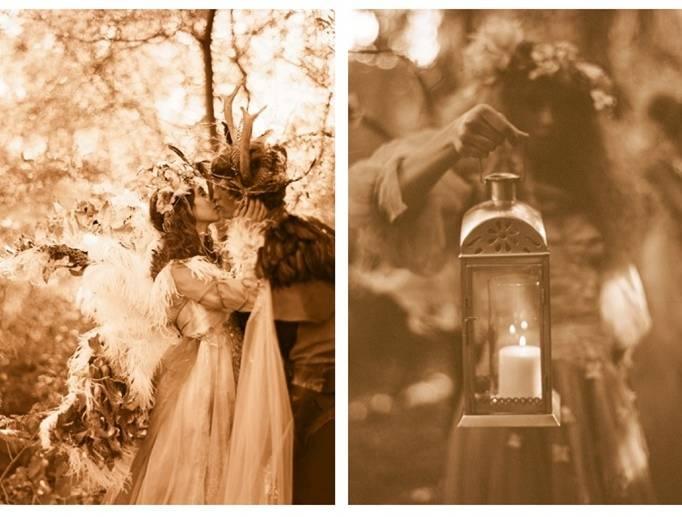 woodland fairy inspired wedding