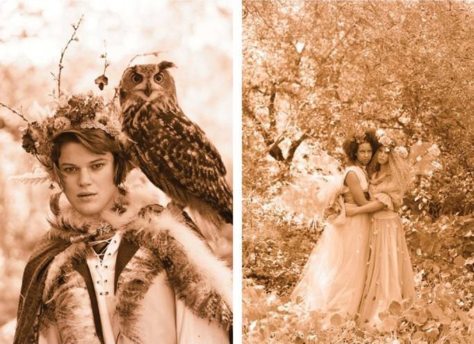 owl themed wedding