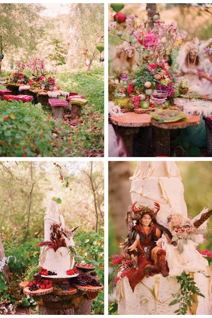 woodland fairy feast