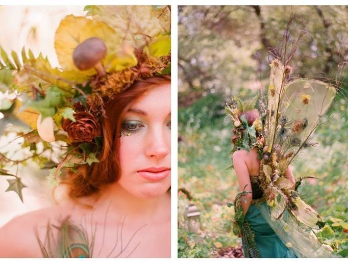 autumn fairy wedding
