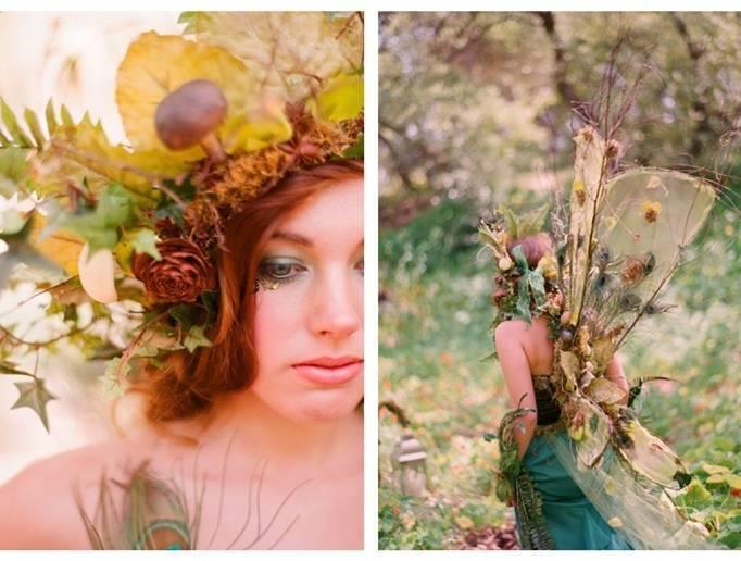 autumn fairy wedding