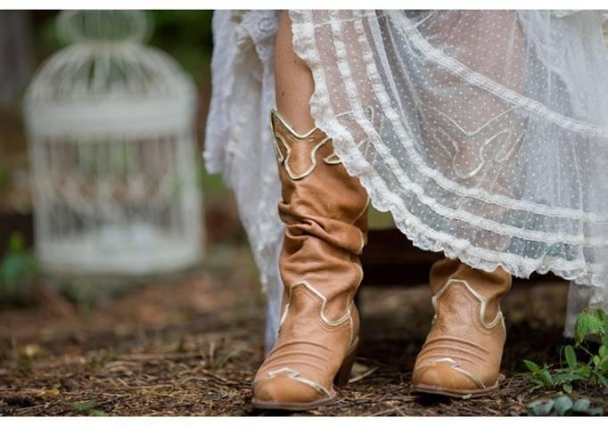 cowgirl bride