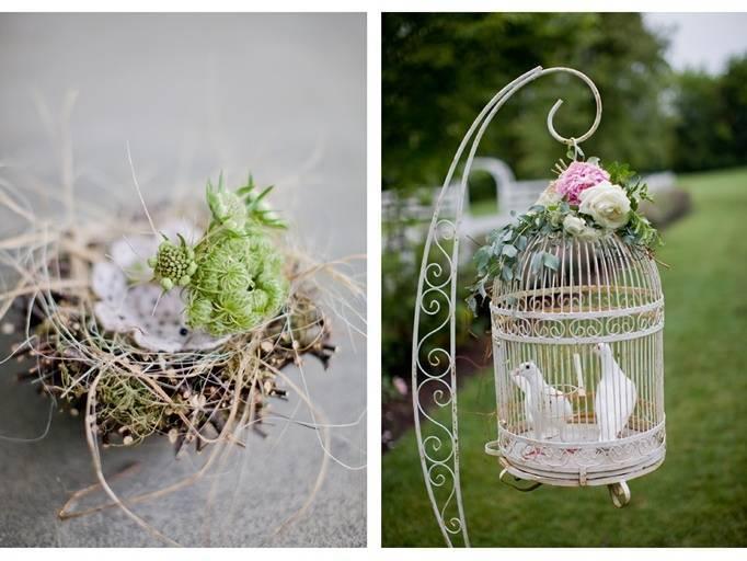 birdcage wedding theme