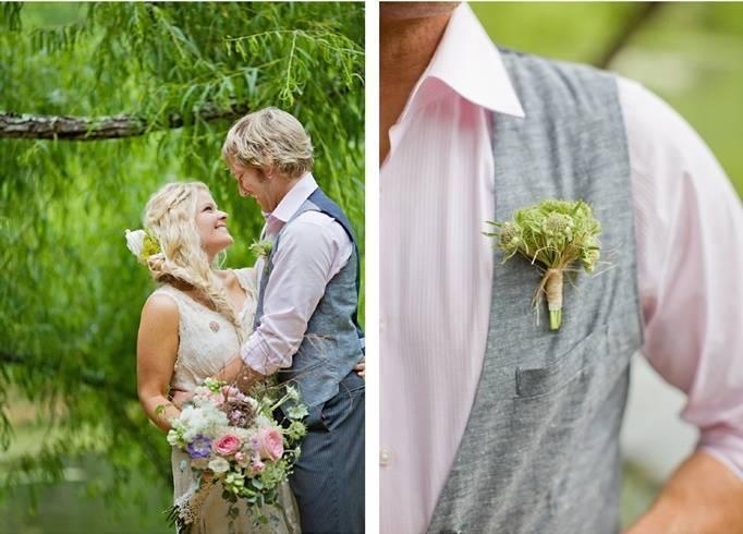 rustic casual groom