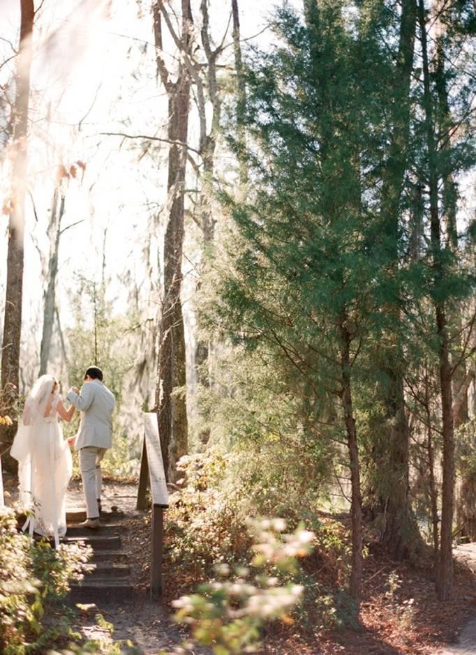 woodland wedding south carolina