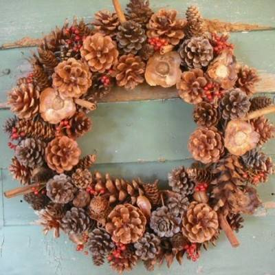 Pinecone Wedding Inspiration