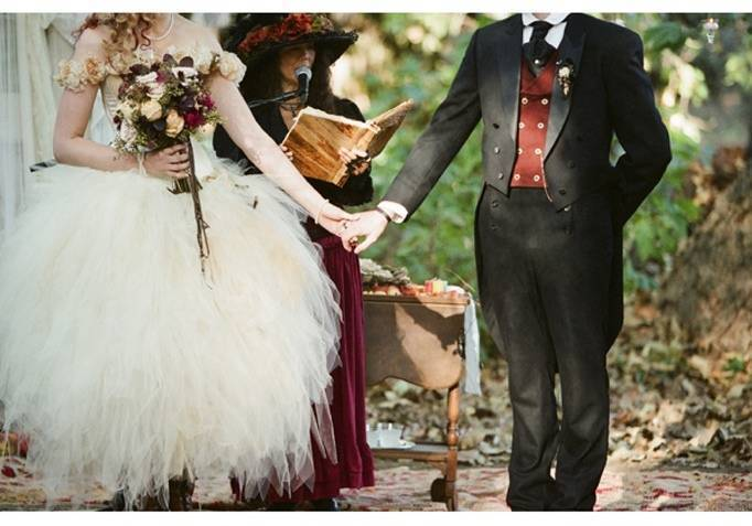 victorian steampunk faerie wedding