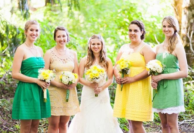 lemon lime wedding theme