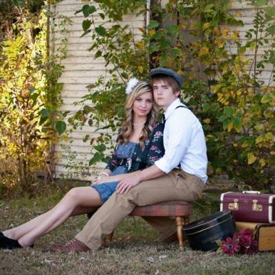 Vintage Oklahoma Engagement by Photographic Memories