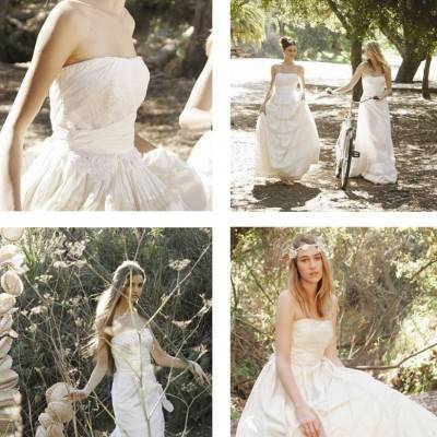 Top Five Eco Couture Wedding Dress Designers