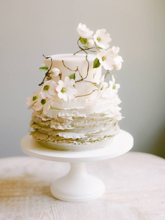 Wedding Cake Inspiration: Beautiful Botanicals