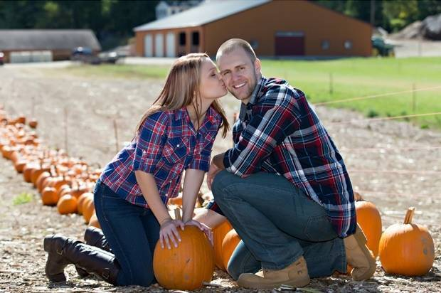 pumpkin engagement theme