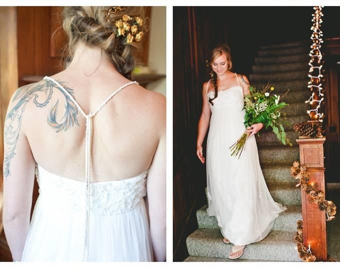 tatooed bride