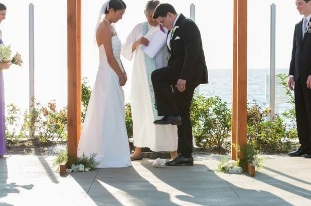 jewish beach wedding