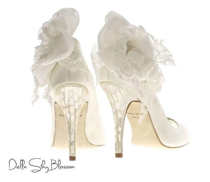 mother of pearl heels
