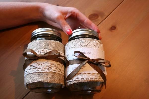 rustic mason jars for weddings