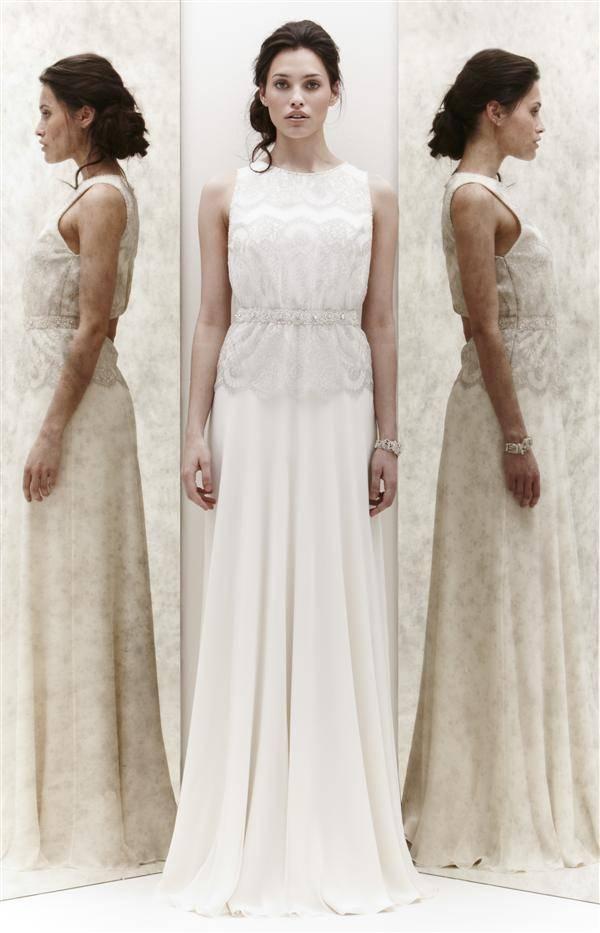 Как сшить платье в свадебном стиле 323