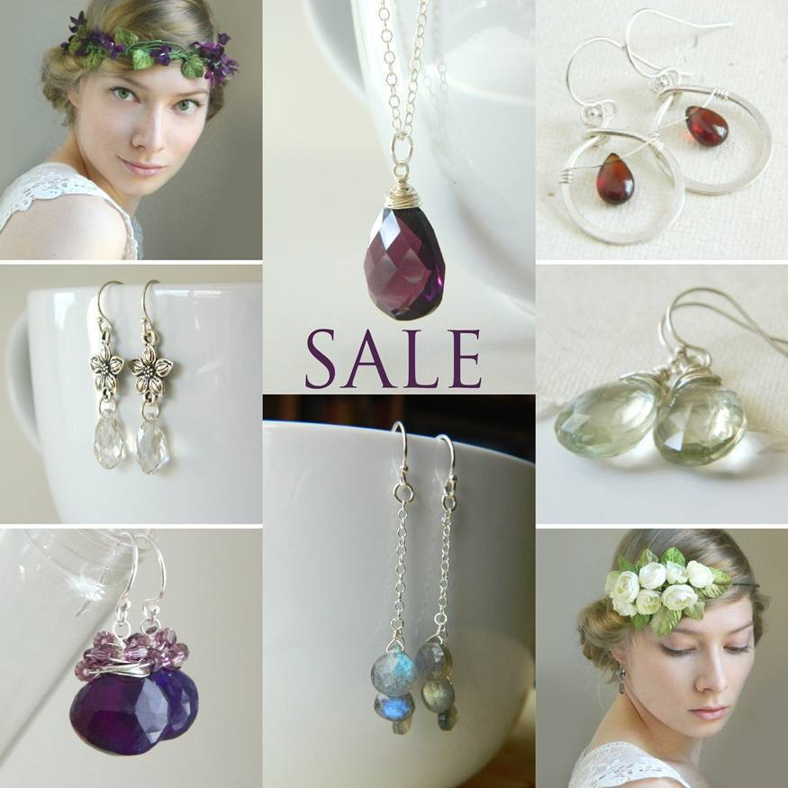 black friday cyber monday jewelry and bridal hair accessories