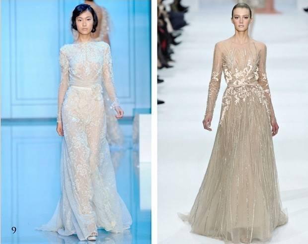 Elie Saab long sleeve dress