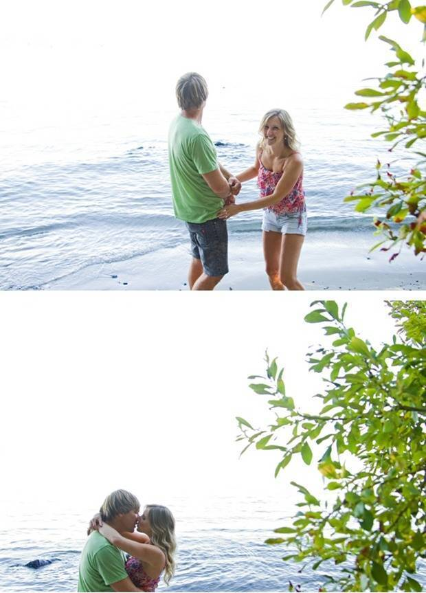 outdoorsy engagement