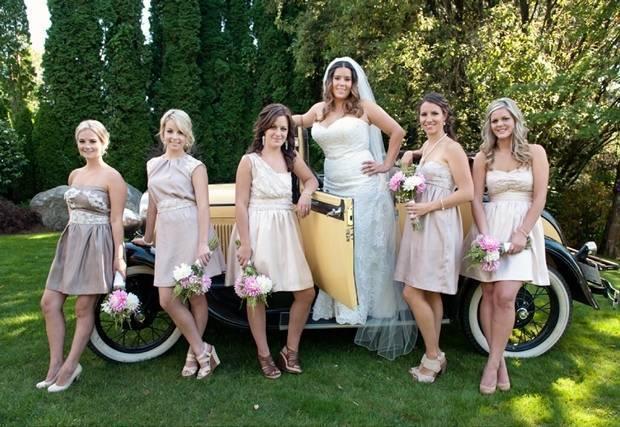 British Columbia Backyard Wedding from Chiffon Photography