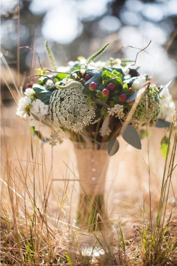 Colorado Woodland Wedding from Ashley Davis Photography