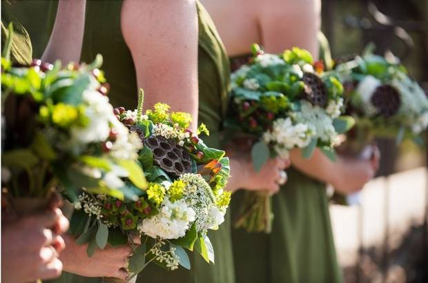 woodland bouquets
