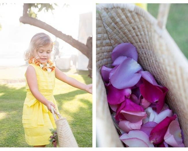 hawaiian flower girl