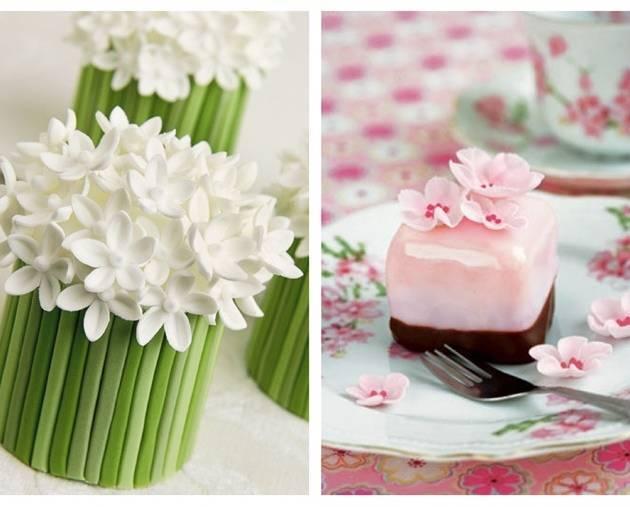 spring mini cake