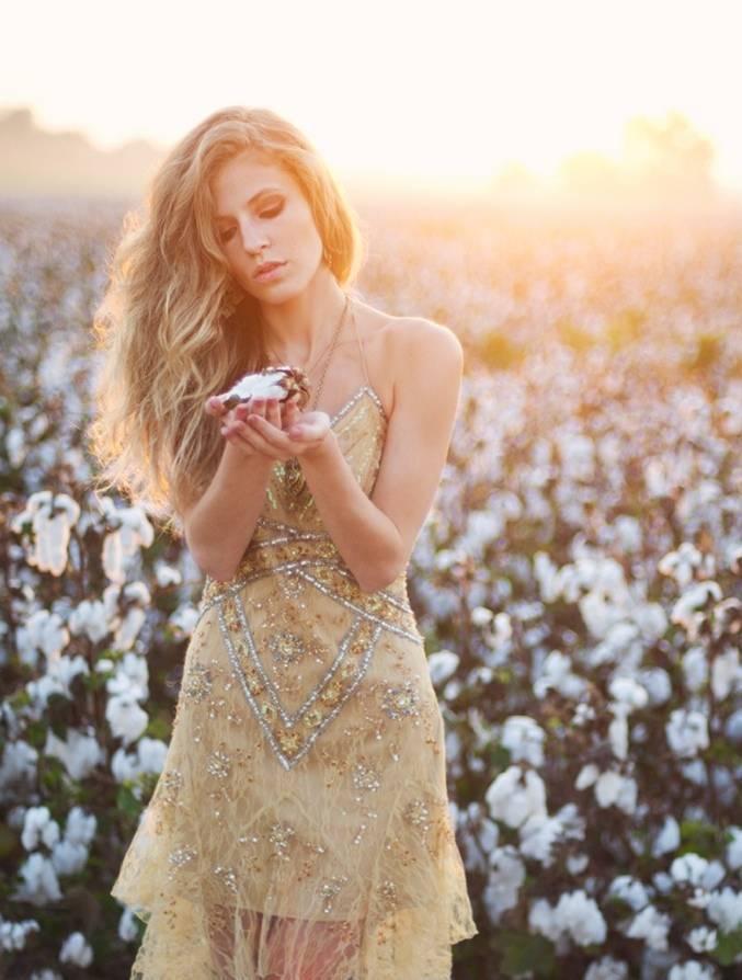 cotton wedding theme