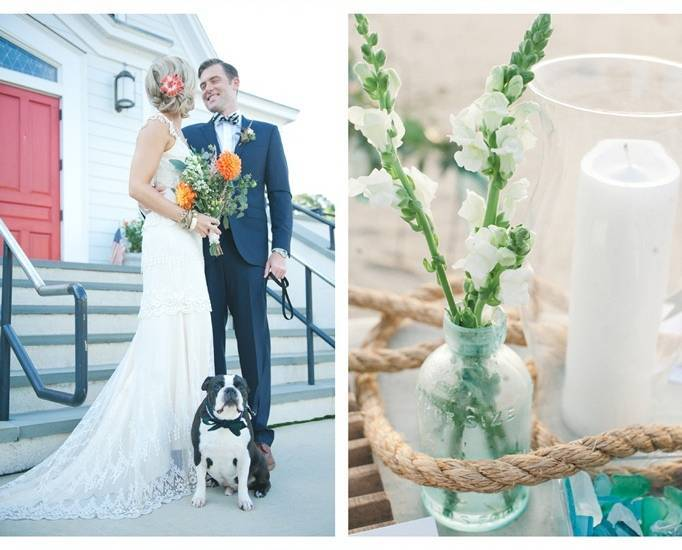beach glass wedding