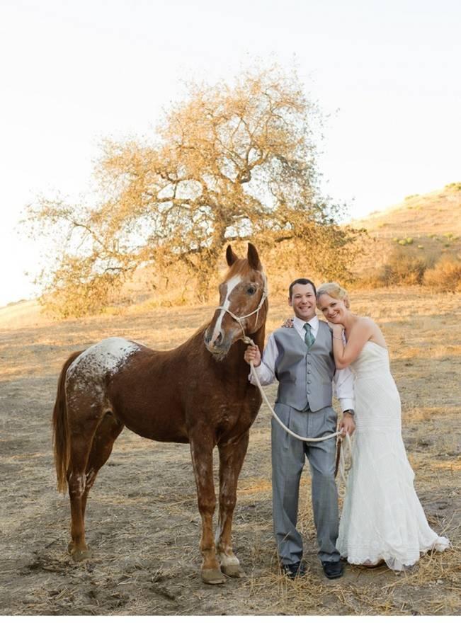 horse farm wedding