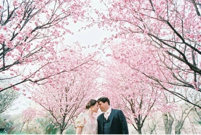 Wedding Flower Inspiration: Cherry Blossom