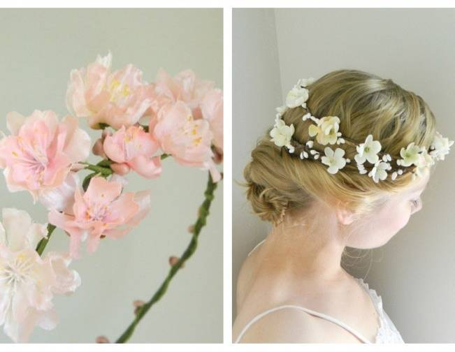 wedding flower inspiration cherry blossom