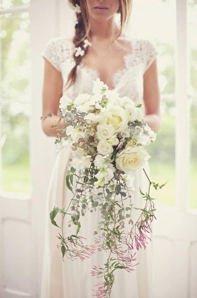 pink jasmine vine bouquet