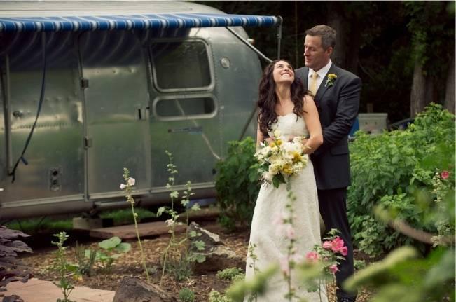 Colorado garden wedding
