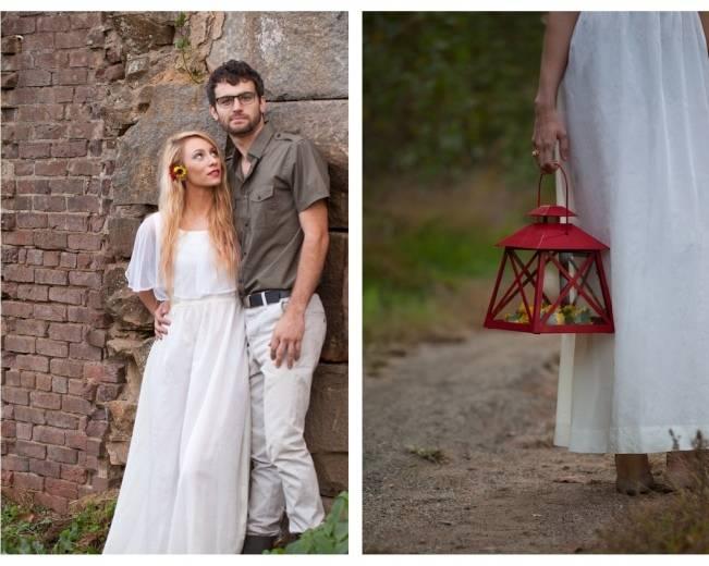 red lantern wedding