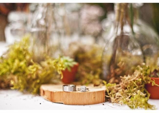 woodland centerpiece