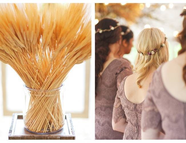 bridesmaid hair crowns