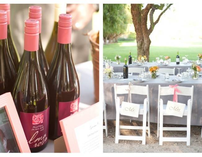 outdoor wedding reception california