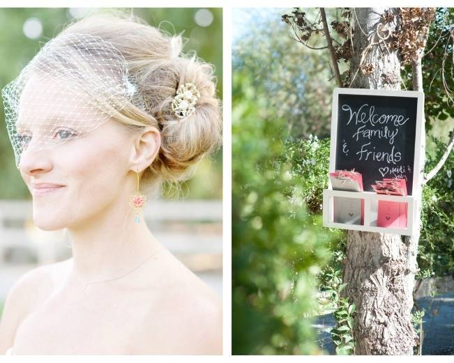 rustic outdoor wedding signs