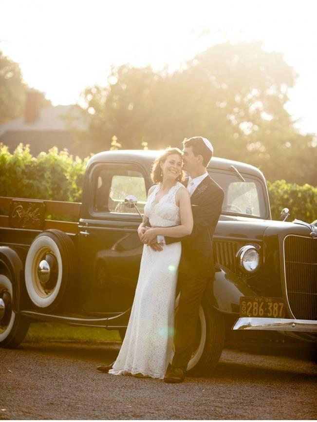 vintage vineyard wedding