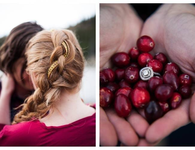 cranberry wedding