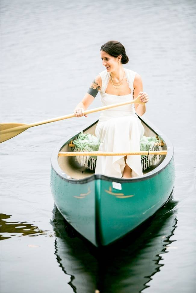 canoe bride