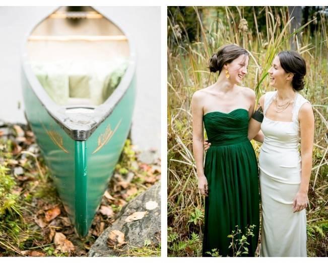 emerald bridesmaid dress