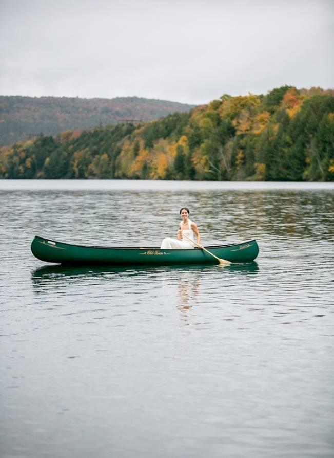 canoe theme wedding Vermont