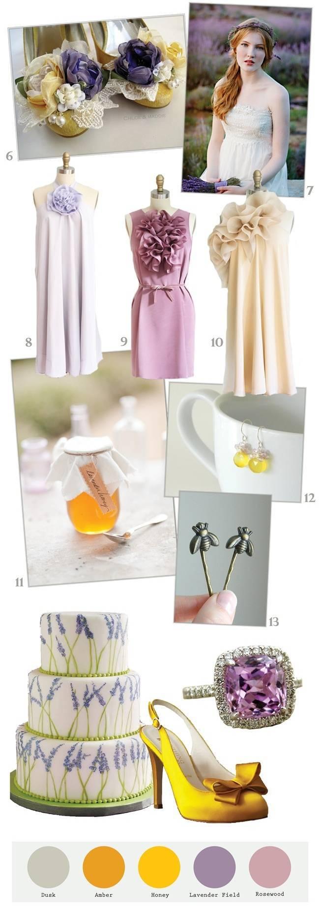 Lavender + Honey Wedding Inspiration