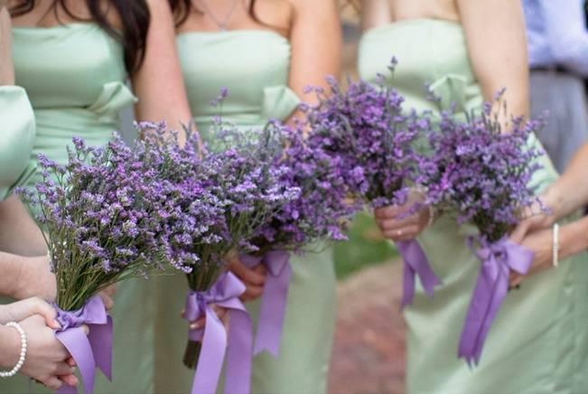 Arkansas DIY Lavender + Sage Wedding {from Photo Love}