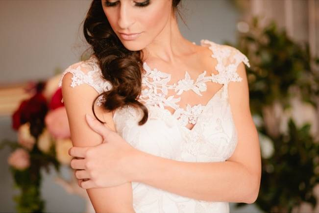 Claire Pettibone Adagio wedding gown