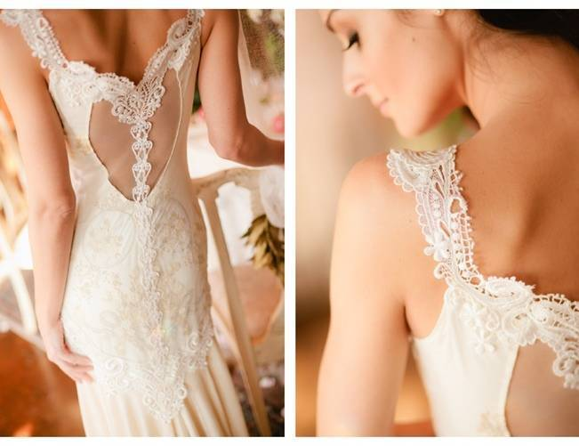 Claire Pettibne Thalia gown